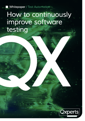 How to continuously improve software testing